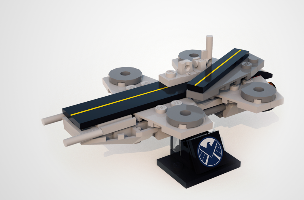 Build your own mini Helicarrier